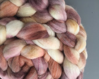 Iced Gingerbread 4 oz Polwarth/Silk Combed Top