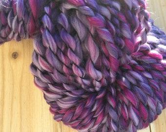 Grapes Bulky Art Yarn - 2 ply 67 yards 4 oz Wool/Silk