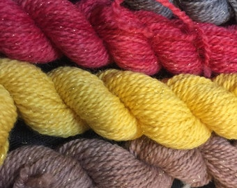 Goblin King Mini Sparkle Yarn Set