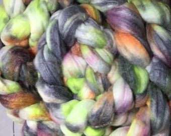 Endor - Hand Dyed SW Merino/Bamboo/Nylon Combed Top - Clearance