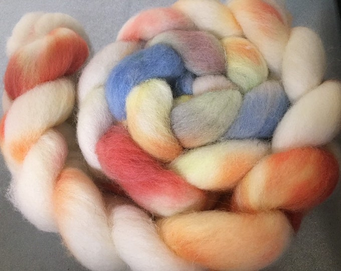 Summer 4 oz Cheviot wool combed top