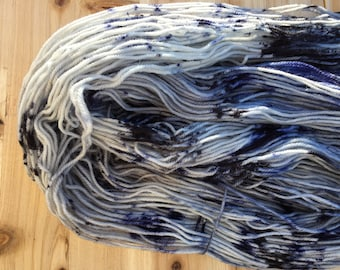 March to the Sea - Speckled Superwash Merino Double Knit weight yarn 100 grams 320 yards