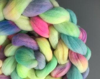 Troll Poo 4 oz South American Wool Combed Top