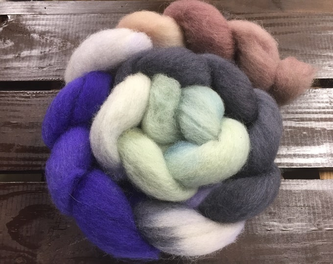 Highlands Hand Dyed Finnish Wool - 4 oz