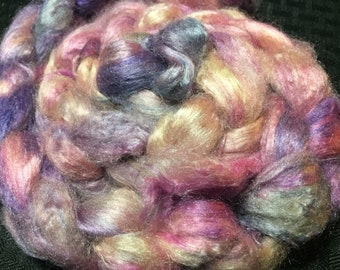 Twisted Sisters 2 oz Dyed Tussah Silk