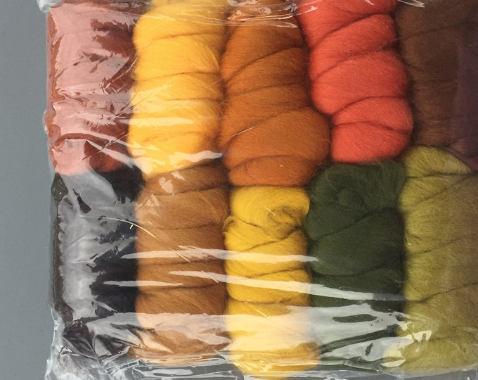 Autumn Leaves 250 g Merino Multi Color Pack