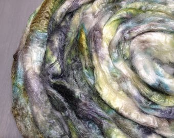 Cornwall - Dyed Tussah Silk - Poldark inspired spinning fiber