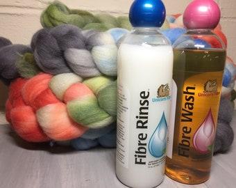 Unicorn Wool Fiber Scour, Wash, and Rinse