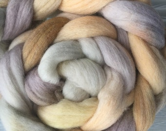 Autumn Woods 4 oz South American Wool Combed Top