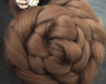 Chocolate 4 oz Corriedale Combed Top Clearance