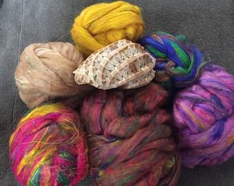 Sari Silk Sampler 150g 6 colors