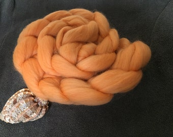 Clementine 4 oz Corriedale Combed Top Clearance