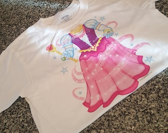 Youth Shirt; Princess; Princess Neckline