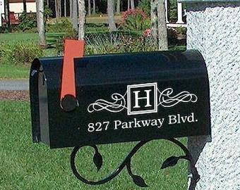 Mailbox stickers | Etsy