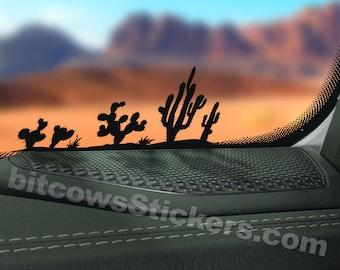 Cactus Windshield Decal Cactus sticker Arizona Sticker  Easter Egg