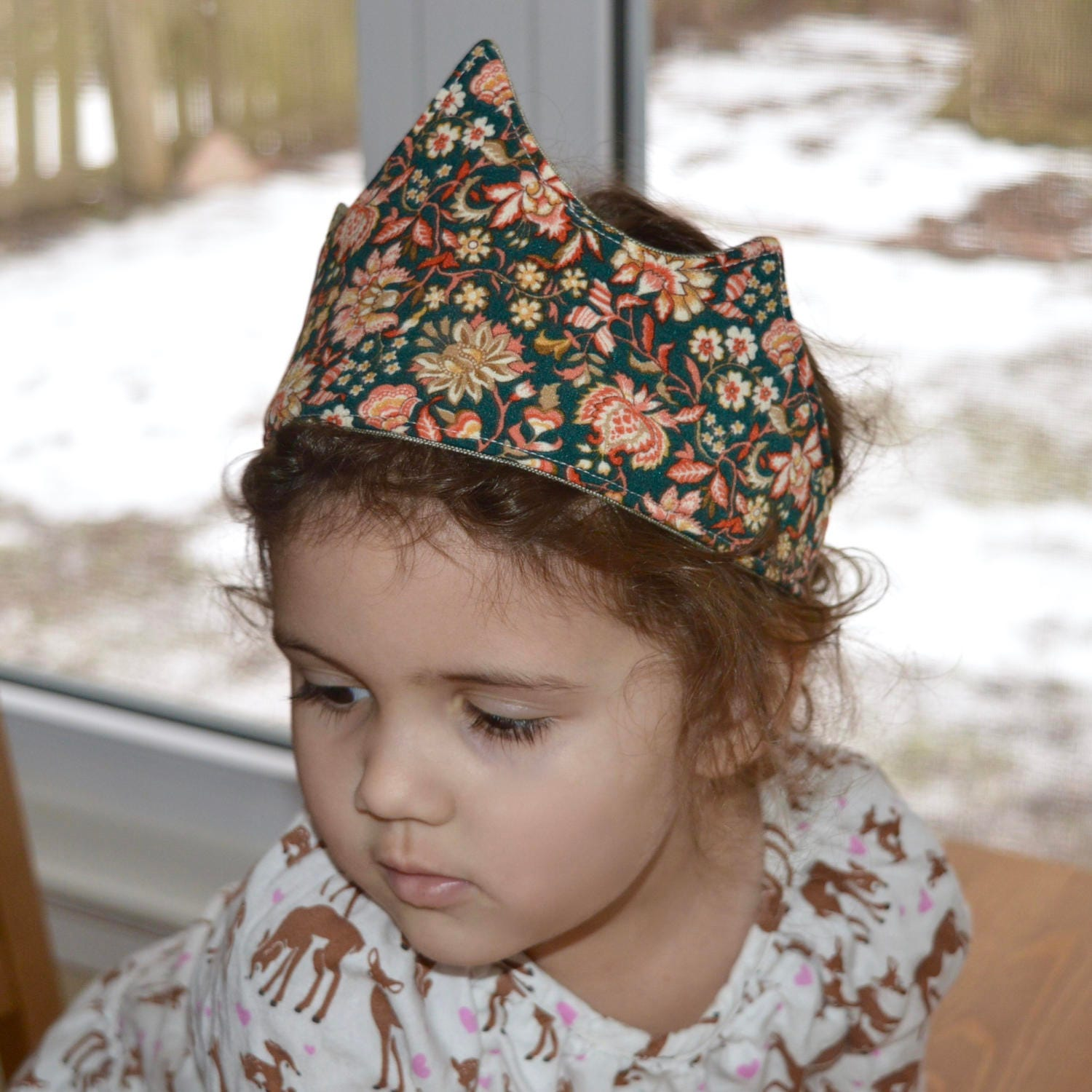 Hairstyles With Crown Queen: Fabric Crown Pattern 3 Unique Styles-Queen King Princess