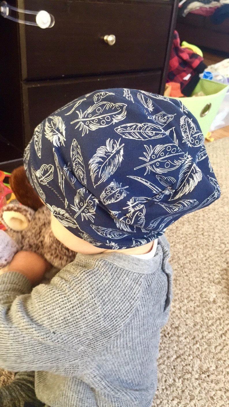 d6569ab0ecf Beanie Hat Sewing PDF Pattern Children s PDF Sewing