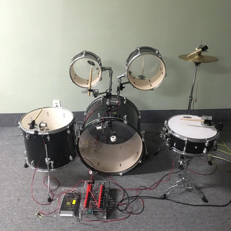 Robotic Drum Kit image 0