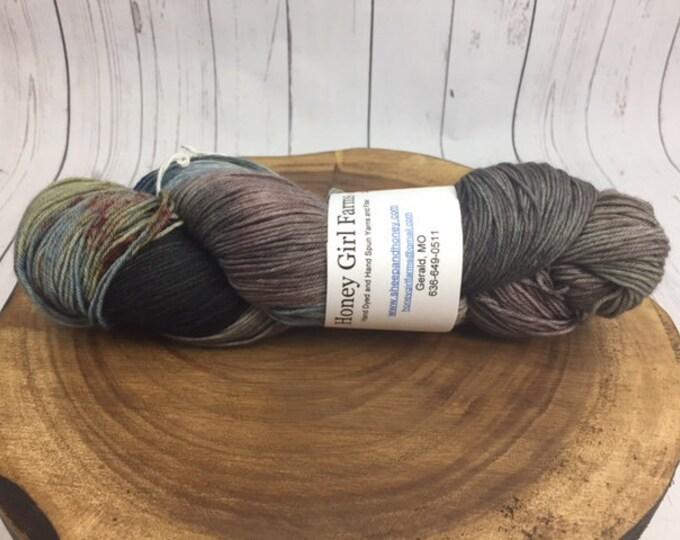Honey Girl Farms, Dougal Outlander, Sock/ Fingering yarn