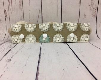 "Sheep, Circular Needle Progress Holder,  6-8"" DPN Progress Holder for Knitting"