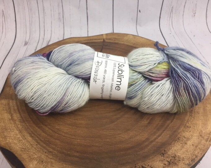 McMullin Fiber Co., Bravado, Fingering Yarn