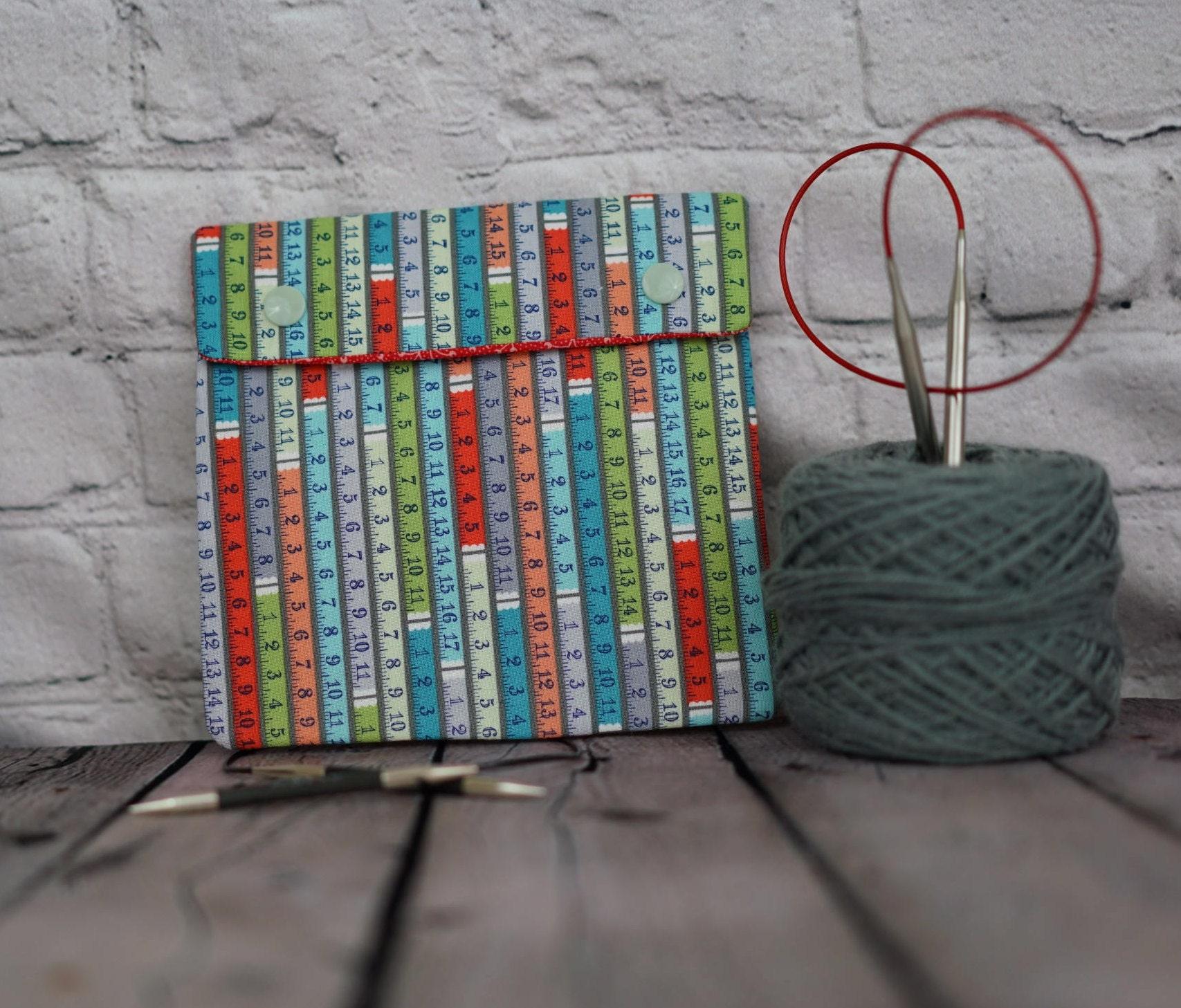 Ruler Circular Knitting Needles Case or Knitting Notions Case ...