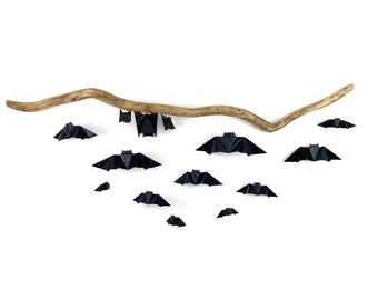 Origami Paper Bat Wall Hanging/Ceiling Mobile [coco33]