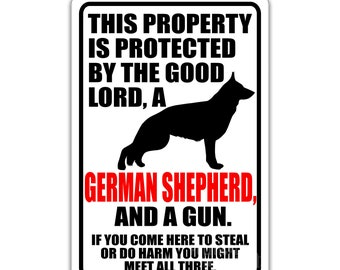 German Shepherd Sign Etsy