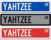 Yahtzee Sign, Yahtzee Game Decor, Yahtzee Yard Game Sign, Outdoor Party Games, Wedding Lawn Game Backyard Events Horseshoes, S-SSG001