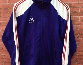 MEGA SALE !! Lecoq Sportif Multicolour Sweaters Full Zipper Small Logo Sportwear Brand Nice Design