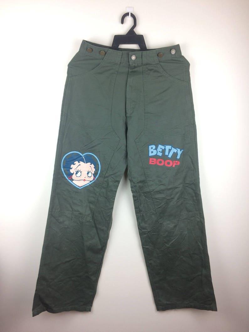 Betty Boop Pants Nice Print Rare Design Cartoon Movie MEGA SALE !