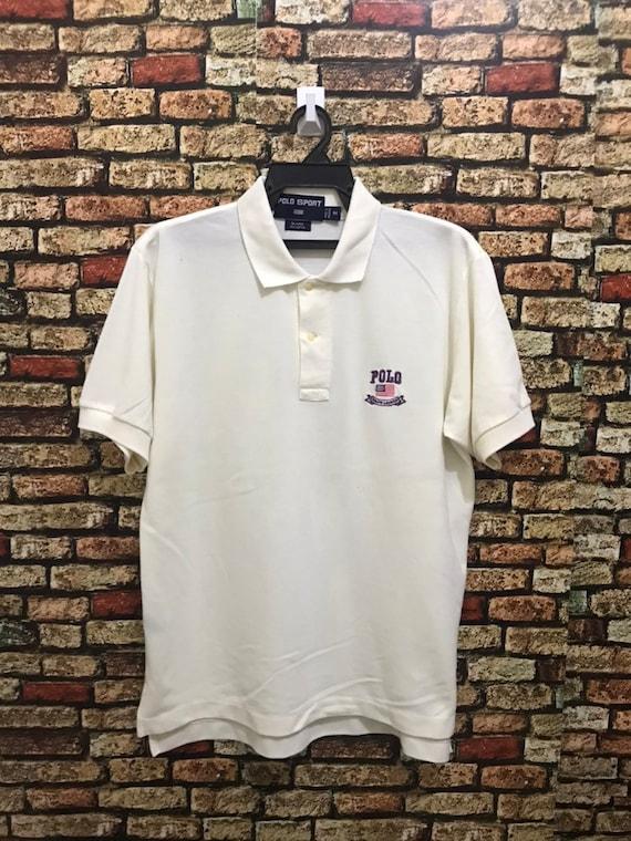 MEGA SALE ! Champion Polos Shirt Sportwear Brand Small Logo