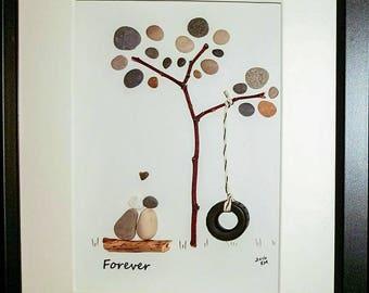 Forever - Pebble Art
