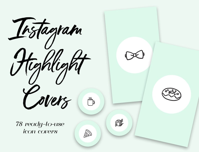 Instagram Story Highlight Icons - 78 Mint Blue Circle Covers, Instagram  Highlight Icons, Instagram Icons, Instagram Highlights, Template