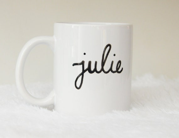 Custom Name 11oz Coffee Mug, Free Shipping