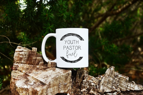 Youth Pastor Fuel Custom Name Coffee Mug