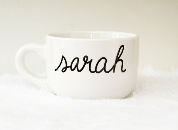 Custom Name 16oz Jumbo Coffee Mug, Free Shipping