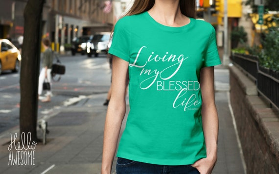 Blessed Life Soft & Comfy Graphic Tee