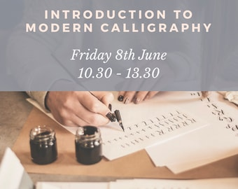 Introduction to Modern Calligraphy - Jervaulx Abbey, nr Ripon - Friday 8th June