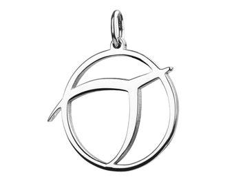 Classic IPU pendant, Sterling Silver