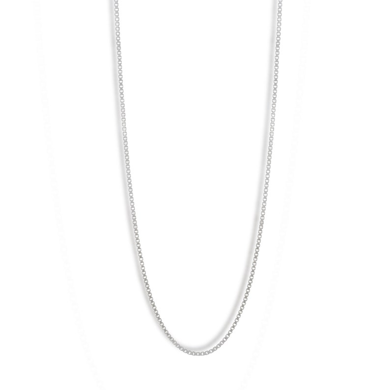 Box chain Sterling Silver image 0