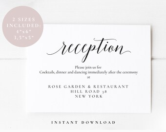 wedding reception etsy