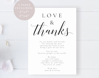Thank You Card Template Printable Thank You Cards Gold Thank Etsy