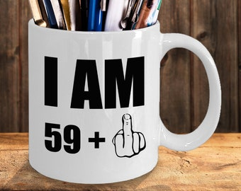 60th Birthday Gift For Women Men Mom Dad Husband Wife Her Him Mum Grandpa 60 Sixty Years Funny Sarcastic Prank Gag Ideas Coffee Mug Cup
