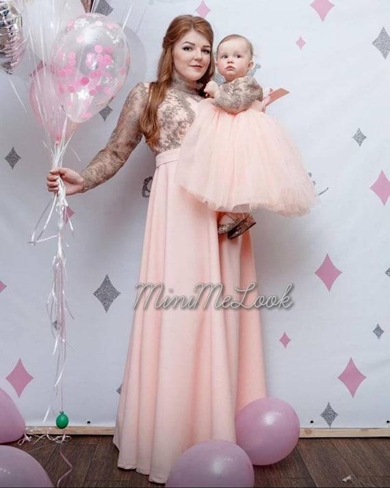dress Matching Mother Daughter Dress | Etsy