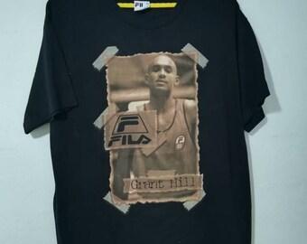 2aa2e4bd59c32 Rare vintage Fila x Grant hill t-shirt L size