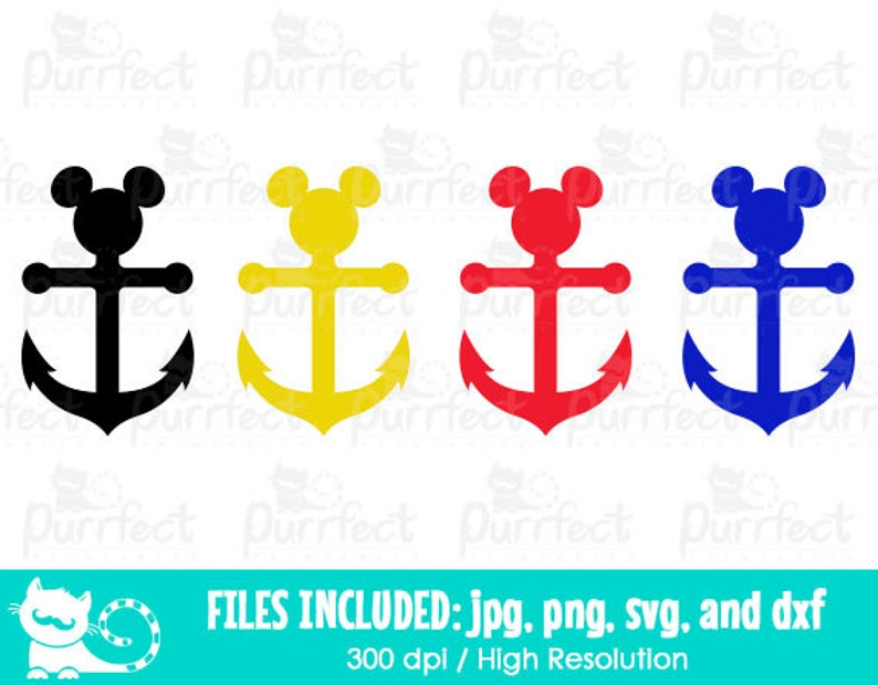 photo relating to Mickey Anchor Printable referred to as Mickey and Minnie Disney Cruise Anchor SVG, Disney Cruise SVG, Disney Electronic Slash Information within svg, dxf, png and jpg, Printable Clipart