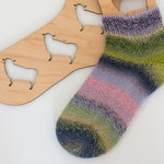 Sock Blockers with Hanger and Sheep Cutouts
