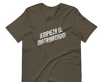 EMPIEZA EL MATRIARCADO |  The matriarchy begins! | Crewneck