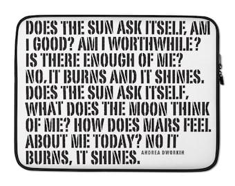 Burn. Shine. | Laptop Sleeve